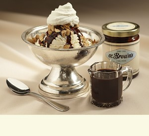 C.C. Brown's Hot Fudge Sauce <br>Case of Four Jars